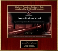 AV Rating for Leonard Matsuk